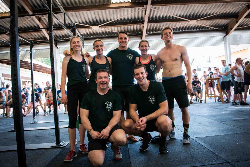 Erster Wettkampf für CrossFit Four Horsemen: Baden Battle 2018