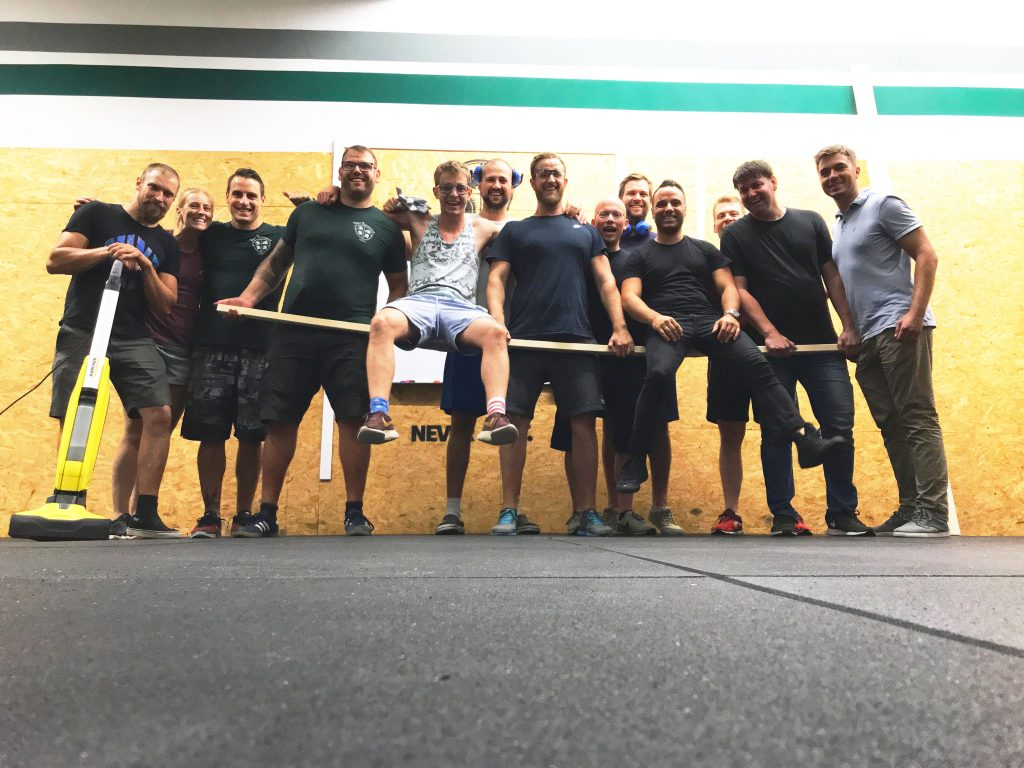 Der Weg zum perfekt CrossFit Boden