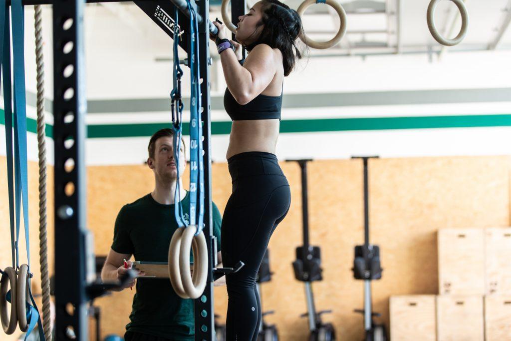 CrossFit Pull Up / Handstand Challenge