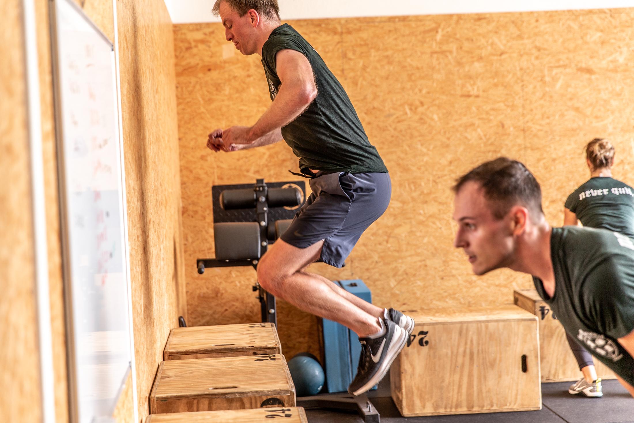 CrossFit Four Horsemen Box Jump Fit